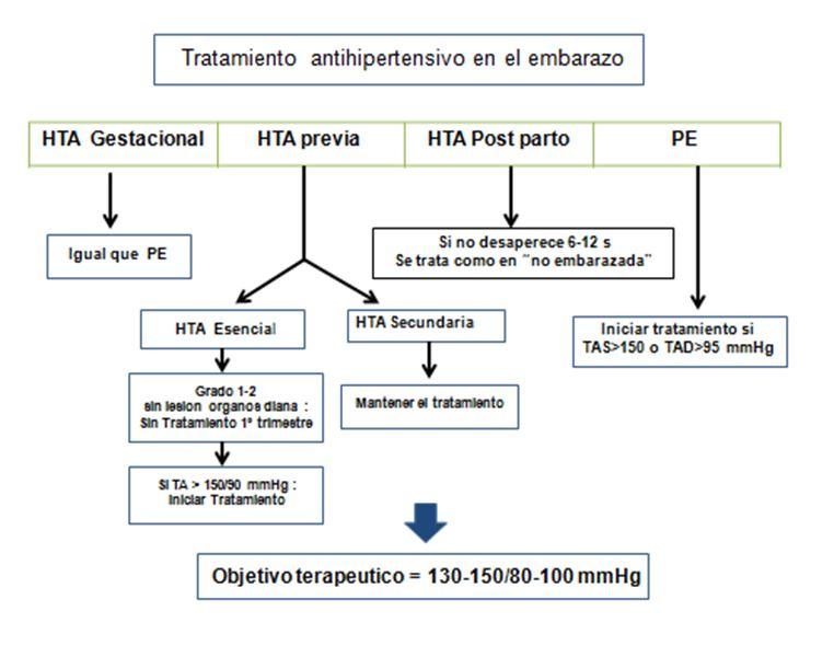Tratamiiento antihipertensivo en el embarazo